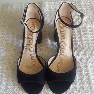 Sam Edelman Suede Dress Sandals Size 8 1/2